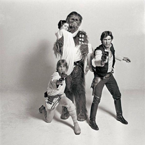 Chewbacca and Leia Having an Affair (9 pics)