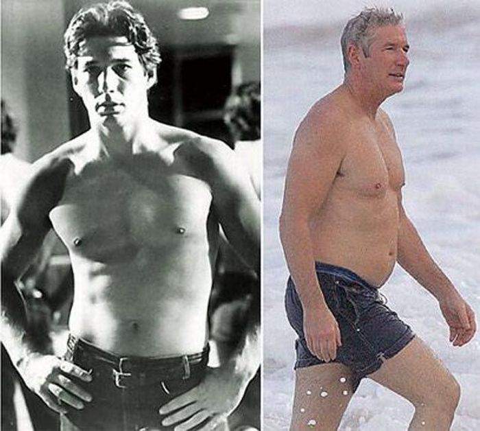 Celebrities Then and Now (42 pics)