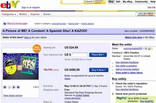 Funny Ebay Auctions (39 pics)