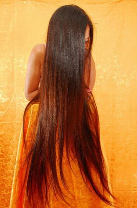 Long-Haired Girls. Part 2 (58 pics)