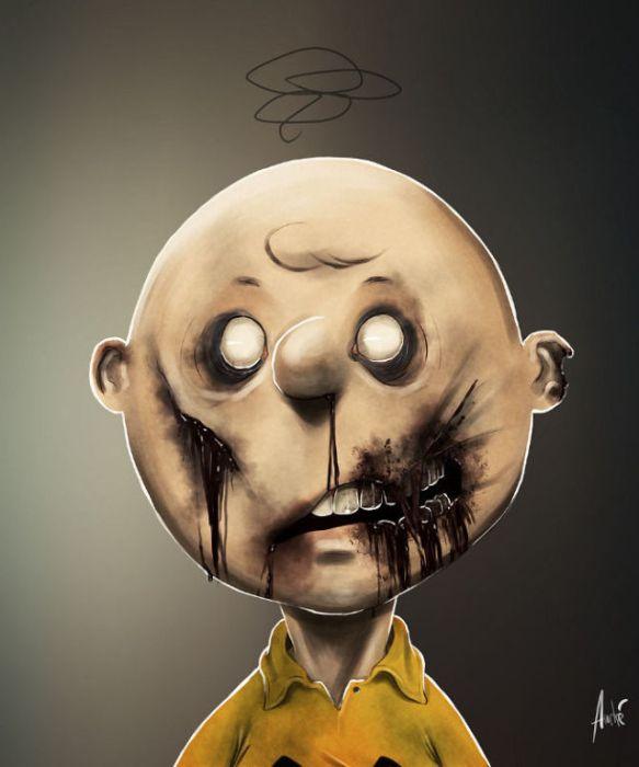 Zombie Cartoon Characters (11 pics)