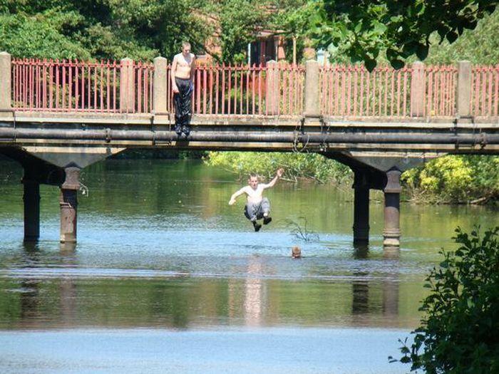 Bridge Jumpers Pics (20 pics)