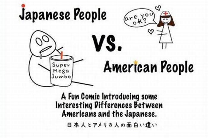 America And Japan: Comic Comparison (12 pics)