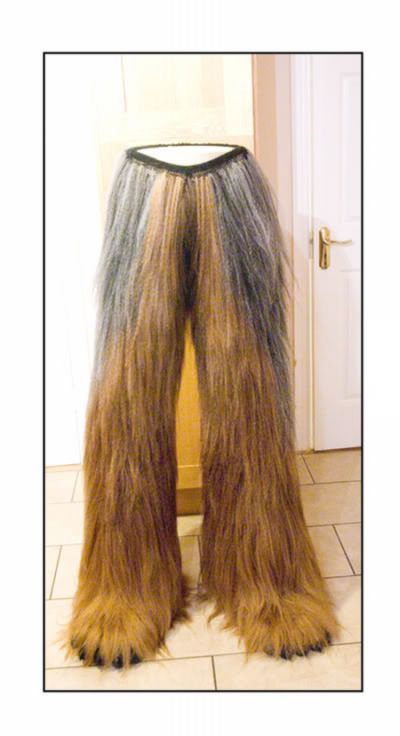 Homemade Star Wars's Chewbacca Suit (15 pics)