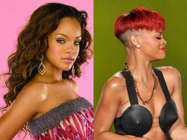 Celebrity Hairstyle Evolutions (21 pics)
