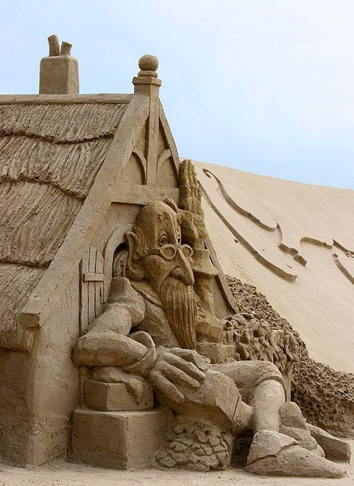 61 Best Images About Native Americans On Pinterest: World's Best Sand Sculptures (61 Pics