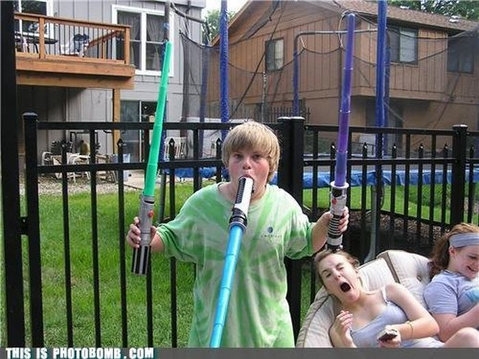 Hilarious Photobombs. Part 14 (40 pics)