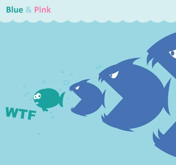 Blue & Pink (10 pics)