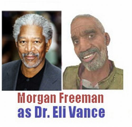 Half-Life Characters and Famous Actors. Awesome! (11 pics)