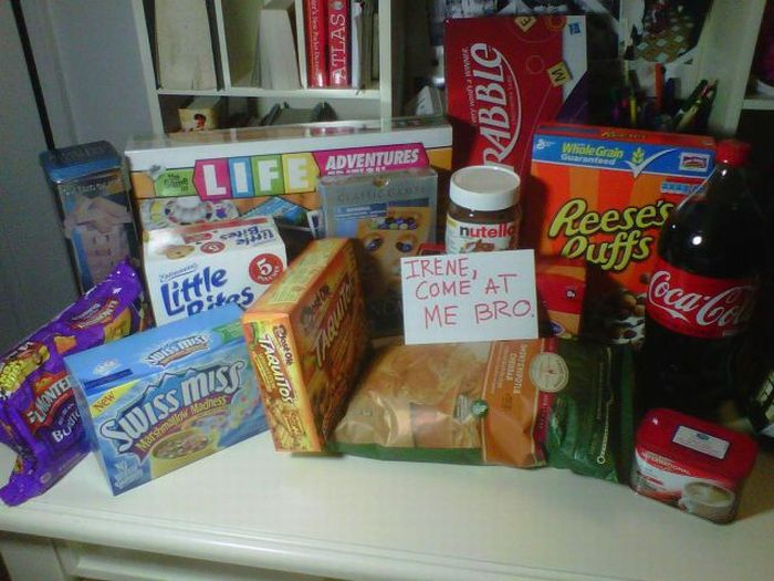 How Weird People Prepared For Irene (22 pics)