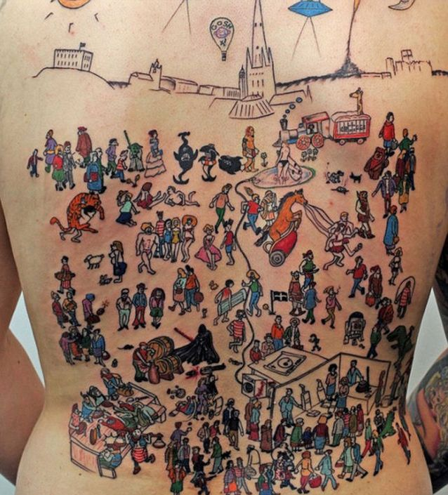 24 Hours to Create the Masterpiece Tattoo (3 pics)