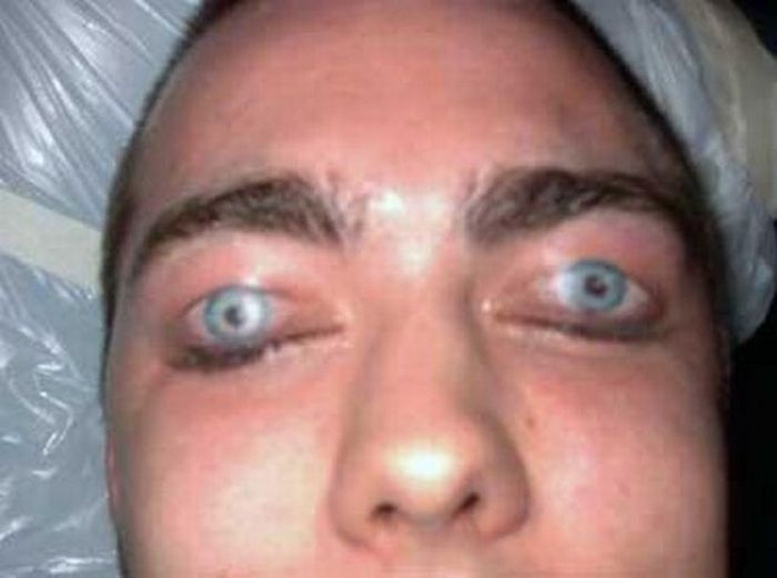 Weird eyeball tattoos with ink 28 pics for Eye tattoo images