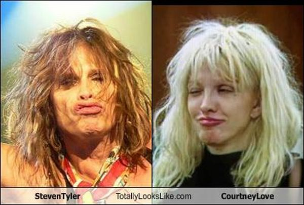 Hilarious Famous Lookalikes (40 pics)