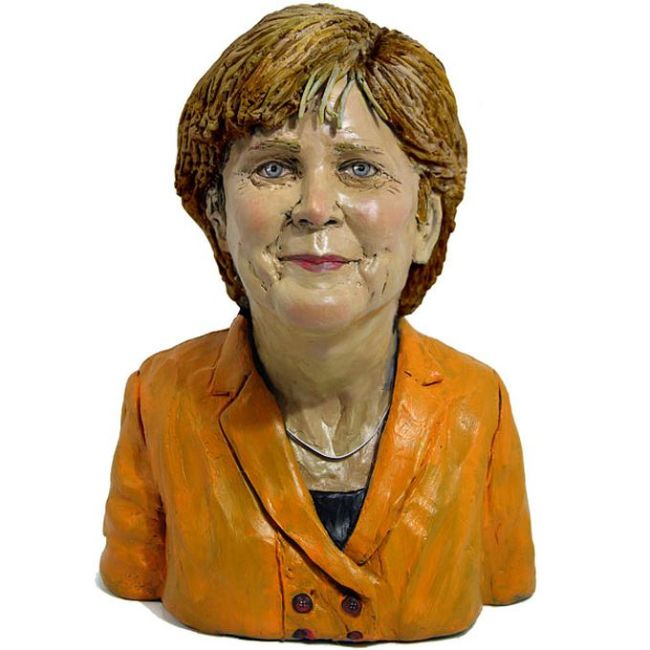 Handmade Plasticine Portraits of Celebrities (15 pics)