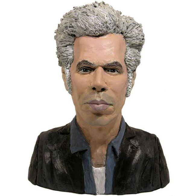 Handmade Plasticine Portraits of Celebrities (15 pics)