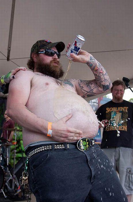 Ultimate Beer Bellies. Part 2 (59 pics)