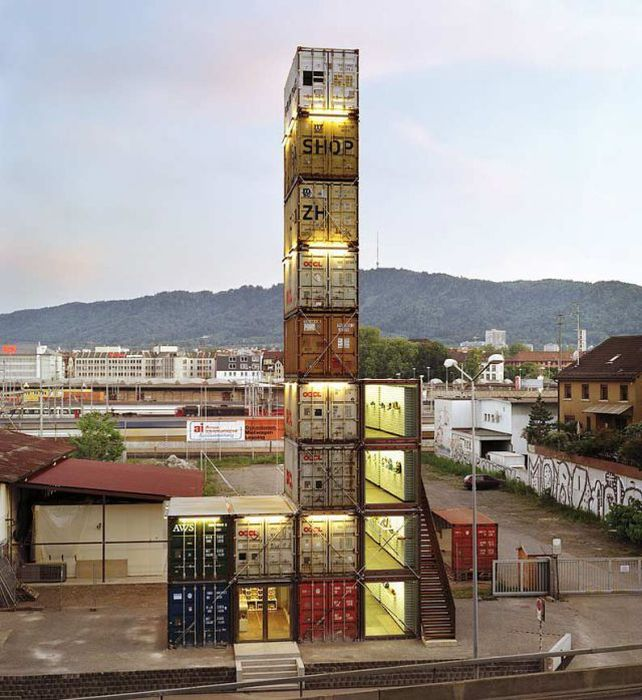 Ingenious Structures Made of Cargo Containers (11 pics)