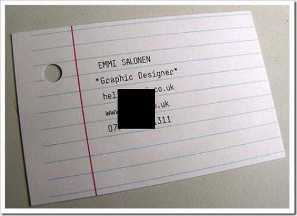 Amazing Business Cards Design (32 pics)
