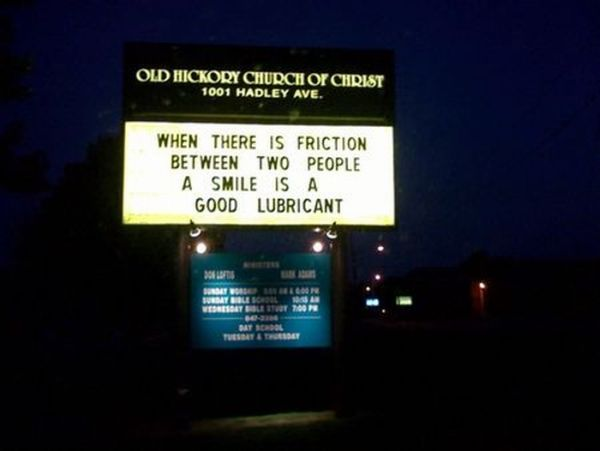 Hilarious and Weird Church Signs (21 pics)