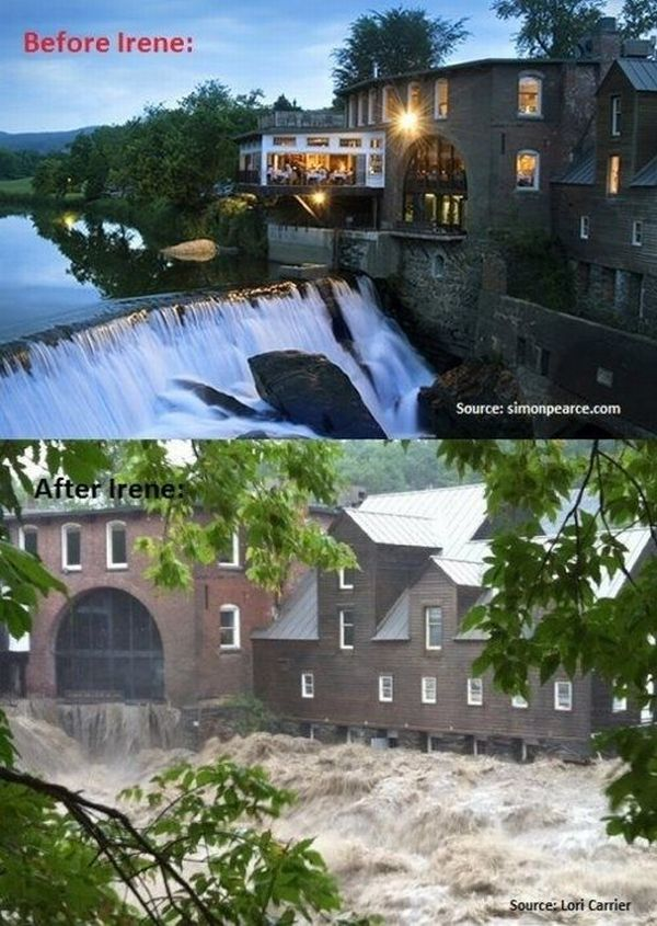 Before & After Hurricane Irene (17 pics)