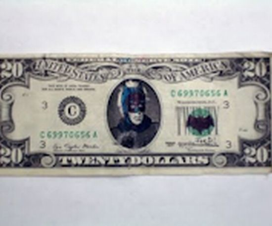 Funny Examples of Defaced Money (44 pics)