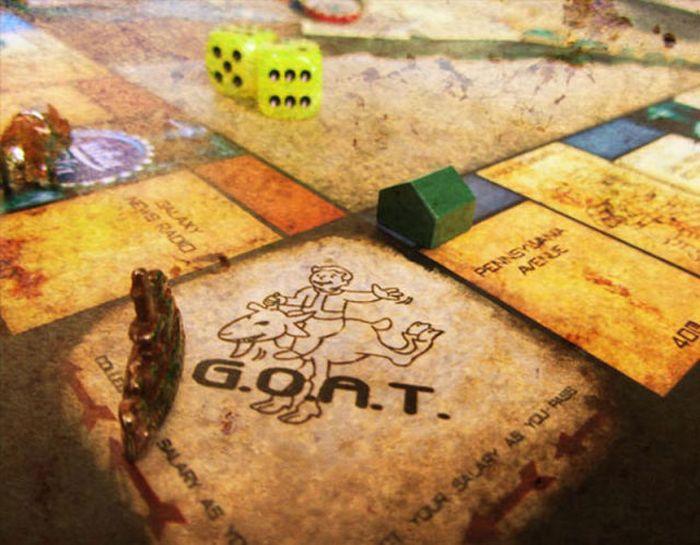 Impressive Fallout Monopoly Board Game (9 pics)