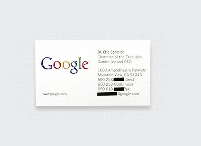 10 famous business cards 10 pics top 10 famous business cards 10 pics colourmoves
