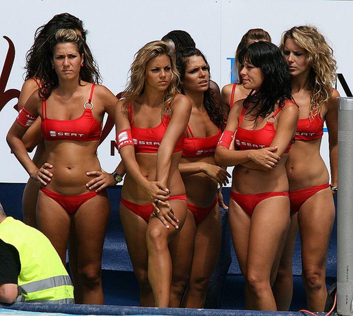 Cute SEAT Beach Volleyball Girls (13 pics)