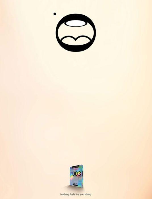 Brilliant Minimalist Print Ads. Part 2 (32 pics)