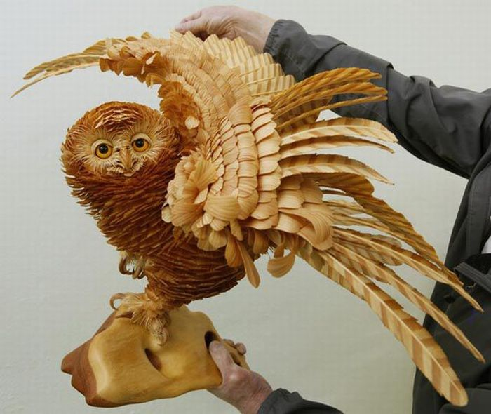 Awesome wood carving pics