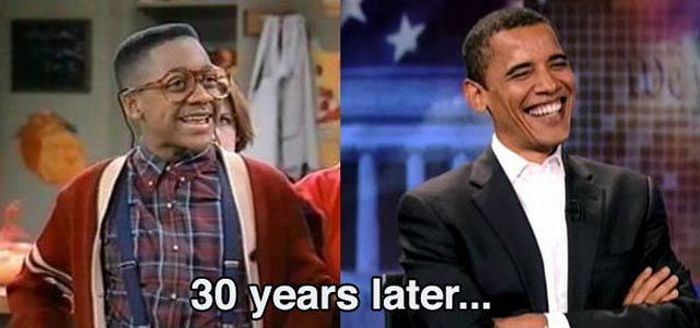 Funny Celebrity Aging Similarity (12 pics)