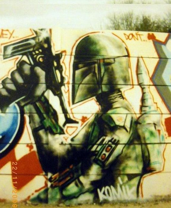 Star Wars Graffiti. Part 2 (40 pics)