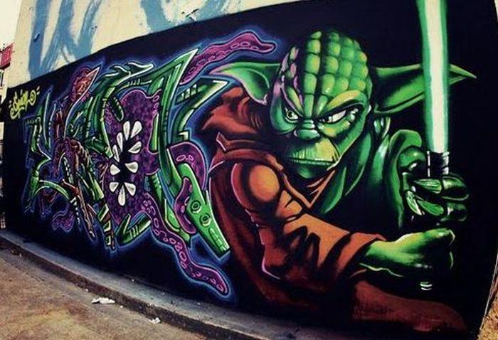 Star Wars Graffiti. Part 2 (40 pics)