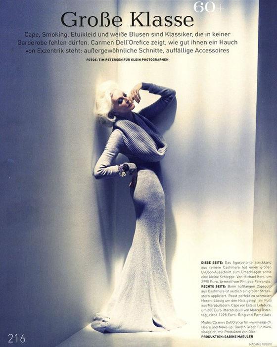 Beauty is Timeless: Carmen Dell'Orefice (43 pics)