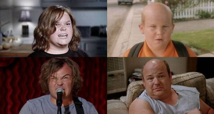 Kids Who Portray Actors in Movies (21 pics)