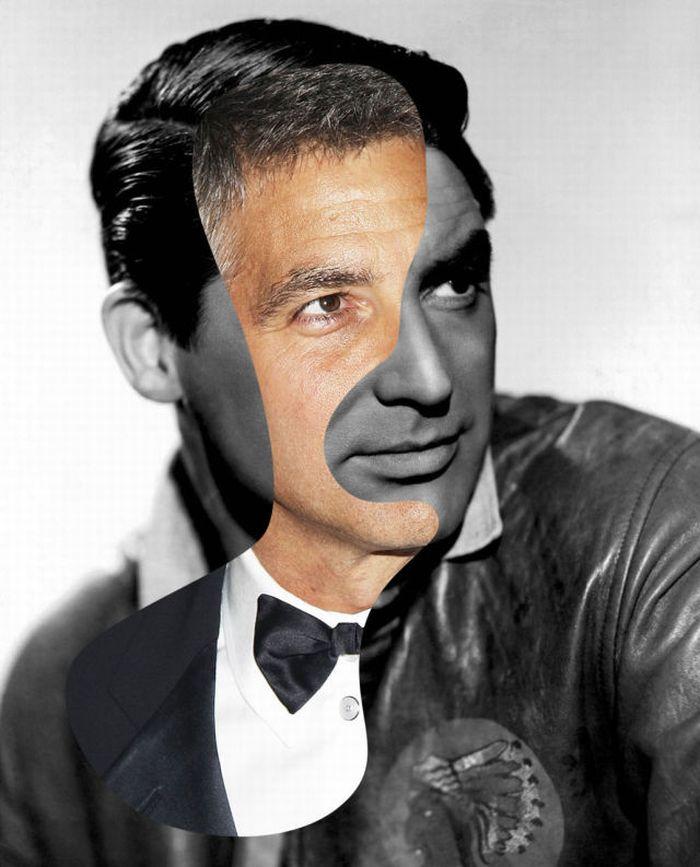 Famous Movie Actors 'Iconatomy' by George Chamoun (5 pics)