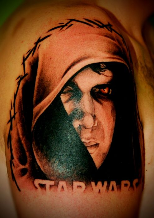 Fabulous Examples of Star Wars Tattoos (118 pics)