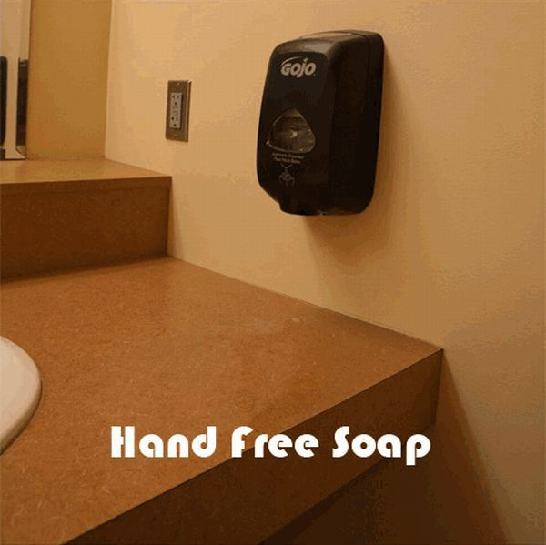 Hand Free WC (5 pics)