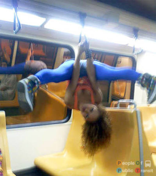 People in Subway. Part IV (89 pics)
