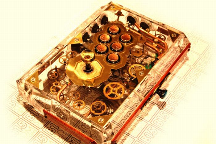 Awesome Steampunk FightStick by SDM Designs (9 pics)