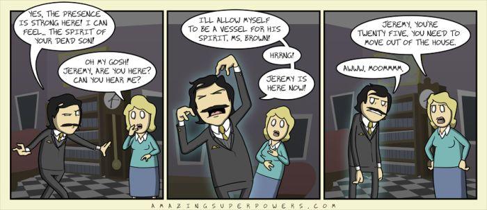 Hilarious Super Powers Comix (50 pics)