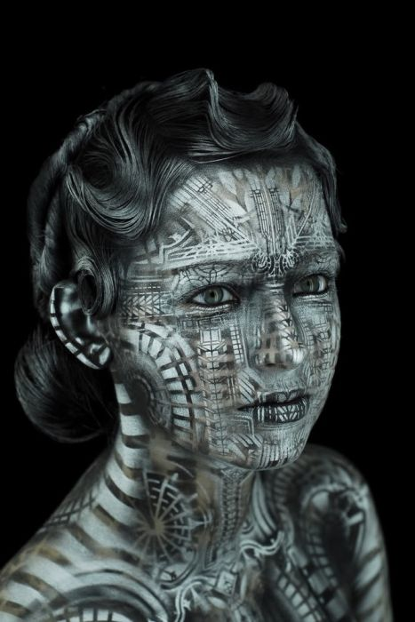 Incredible Body Art by Michael Rosner (31 pics)