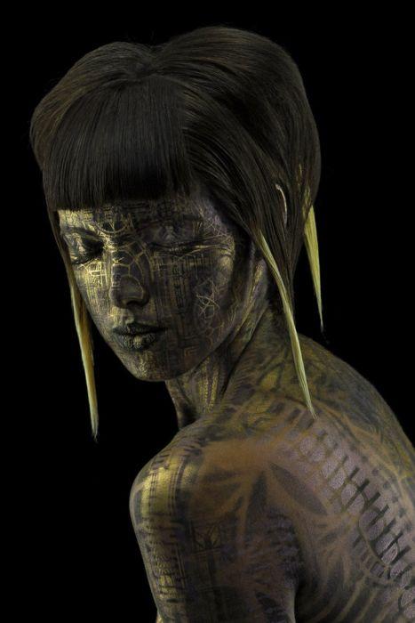 Incredible Body Art by Michael Rosner (31 pics)