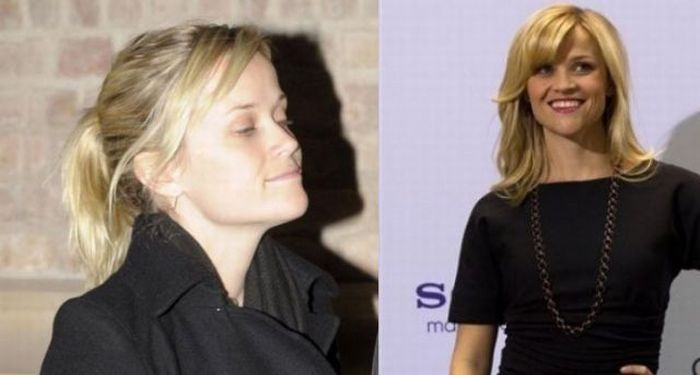 Celebrities Before and After Makeup (51 pics)