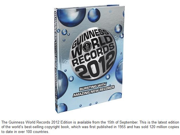 Awesome Guinness World Records 2012 (32 pics)