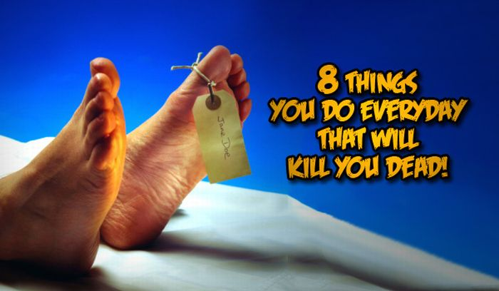 Everyday Things That Can Kill You (9 pics)