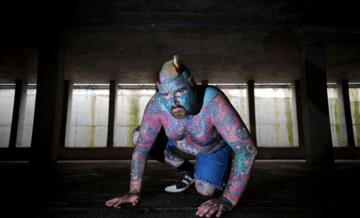 Weird Body Transformation of Mathew Wheeler (32 pics)