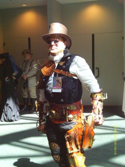 Marvelous Steampunk Costumes (39 pics)