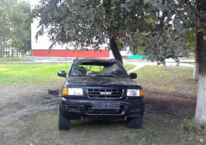 Cruel Car Revenge (51 pics)
