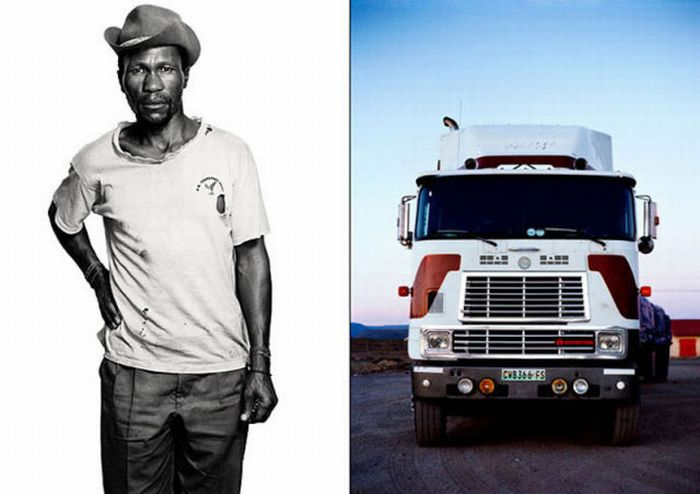 Truckers and Their Vehicles Look Alike (11 pics)